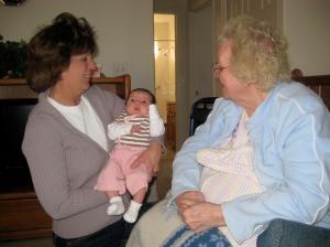 Grandma and Great-Grandma!