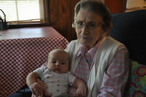 Grandma and Leif