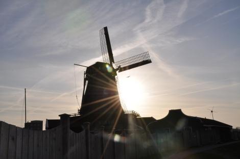 Windmill Zaanse Schaans