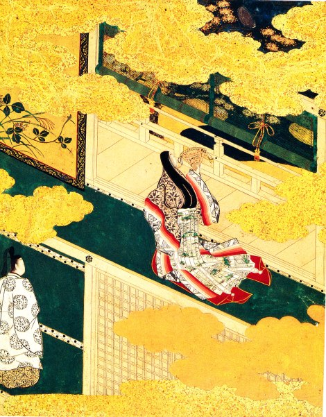 Hanano-en- Under the Cherry Blossoms Tosa Mitsuyoshi