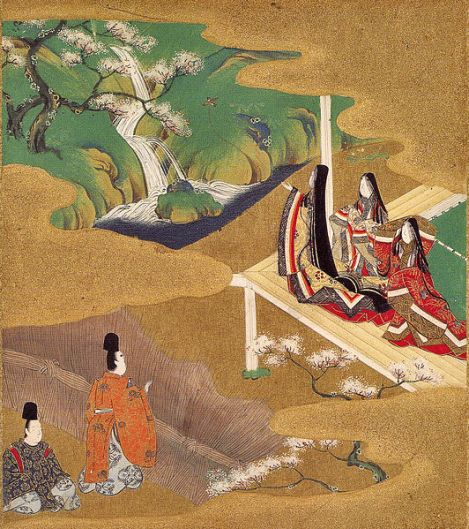 Illustration by  Tosa Mitsuoki (1617–1691)